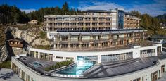 New hotel near Seefeld called Nidum. Bio Sauna, Alpine Style, Steam Bath, Hotels, Treatment Rooms, Luxury Spa, Workout Rooms, Cool Rooms, Resort Spa
