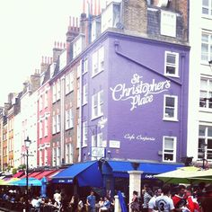 St Christopher's Place - lots of happy/drunken times in this place!!