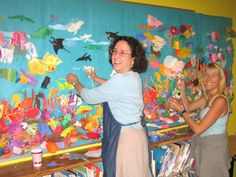 Robin Brickman School Mural Project