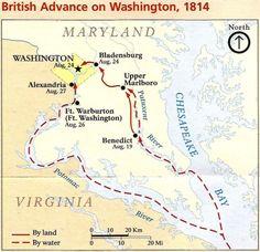 200 Years Ago Today: The Burning of Washington, D.C.