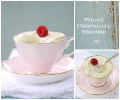 Passion 4 baking » White Chocolate Mousse