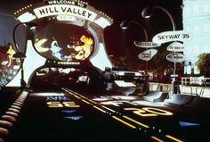 Back to the Future The Ride Hill Valley 2015 future