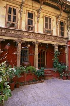 artnlight: Beautiful Homes Traditional pol house in Ahmedabad. Love.