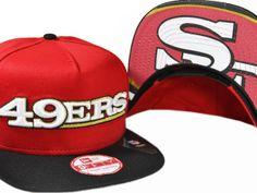 NFL San Francisco 49ers Snapback Hat (73) , wholesale online  $5.9 - www.capsmalls.com