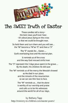 Gallery of best 25 easter poems ideas on easter story - m m easter poem Hoppy Easter, Easter Eggs, Easter Bunny, Easter Table, Easter Poems, Easter Quotes, Jesus Easter, Easter Devotions, Easter Sayings