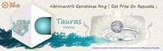 #AajmaKarDekho Abhimantrit Gemstones Ring Tauras ( Heera )....for more details visit http://www.buyrashiratan.com
