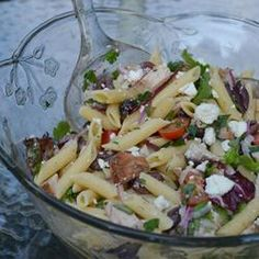 This was delicious! Mediterranean Turkey Pasta Salad Allrecipes.com @Butterball #TurkeyTuesday