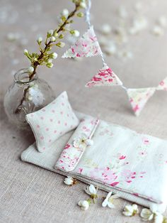 Tooth Fairy Bed Sets that smell of strawberries, make your child's first experience of the tooth fairy a magical one. www.peonyandsage.com