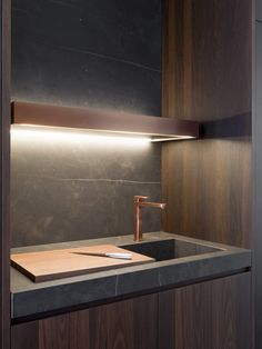 LACQUERED WOODEN KITCHEN TWELVE | VARENNA BY POLIFORM