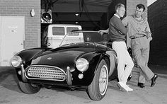 RIP Carroll Shelby with Steve McQueen in 1963