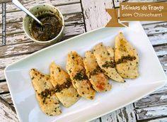 Ponto de Rebuçado Receitas: Bifinhos de frango com chimichurri