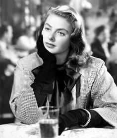 Ingrid Bergman , Notorious - 1946