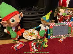 Edible hungry hippos. Woodland Elf, Father Christmas, Magical Creatures, Family Traditions, Easter Bunny, Elf On The Shelf, Elves, Over The Years, Old Things