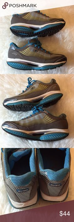 40cd5b1fc5aa30 Sketchers Shape Ups Resistance Kinetic System 9 Kinetic wedge technology