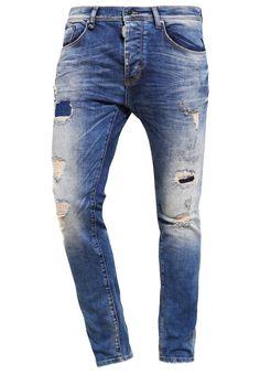 Antony Morato Jeans Slim Fit destroyed denim Bekleidung bei Zalando.de | Material Oberstoff: 98% Baumwolle, 2% Elasthan | Bekleidung jetzt versandkostenfrei bei Zalando.de bestellen!