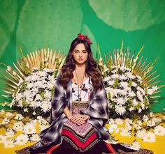 Photo of Becky G Looks Exactly Like Frida Kahlo in These Recently Released Pictures Becky G Outfits, Frida Kahlo Portraits, Mexican Heritage, Still Love Her, Photoshoot Themes, Marie Gomez, Photography Poses, My Girl, Idol