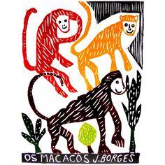 J.Borges - Os macacos
