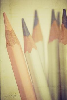 pencils... by shelby