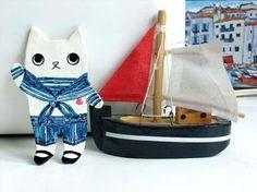Sailor Hep Cat pin - Reserved