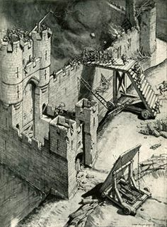 Fabulous article on castle sieges (tactics/weapons).