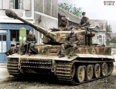 WW2 German panzer crew