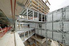 Construcción de la Sede Allianz. Imagen cortesía de © Wiel Arets Architects.