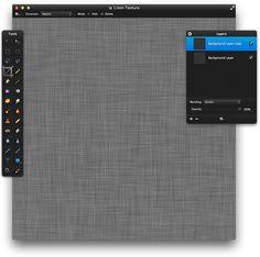 Pixelmator Tutorials – Hatched Linen Texture