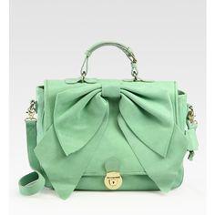 Valentino Bow Top Handle Bag