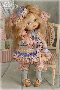 Купить Тутси . Кукла авторская коллекционная - кремовый, шебби, шебби-шик, шебби шик, бохо #handmadedollstodelightyourheart