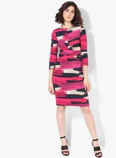 35a2b9e9ad2 Buy DOROTHY PERKINS Lily   Franc Pink Bodycon Dress Online - 3276526 -  Jabong