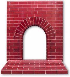 Edwardian Arch tiled fireplace insert: an Original Edwardian ...