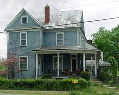 three story house   ... property in 1893, he presumably built this house for a large family