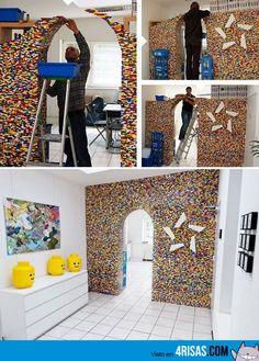 decorating with legos