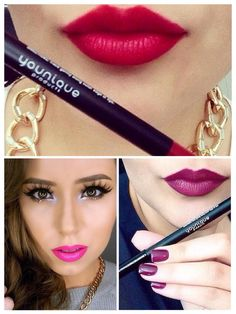 Do you want that amazing pout??? Look no further! $18CAN each. Long-wearing lip liner color that pops and accentuates your perfectly-shaped puckers with precise and deliberate color placement. Get yours from www.4EverLash.com