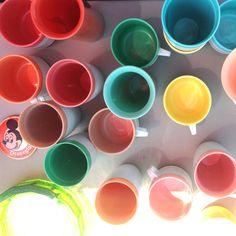 Vintage cups   Gail Bryson   The Chromologist