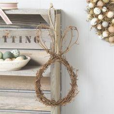Easter Bunny Wreath Decoration