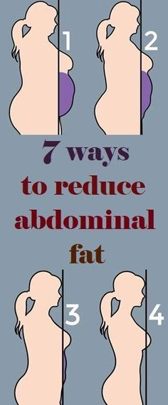 7 WAYS TO REDUCE ABDOMINAL FAT Weight Loss Motivation, Weight Loss Tips, Fitness Motivation, Losing Weight, Abdominal Fat, Abdominal Exercises, Body Exercises, Reduce Belly Fat, Lose Belly