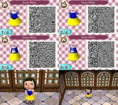 Animal Crossing New Leaf Qr Code Cute Squirtle Schiggy