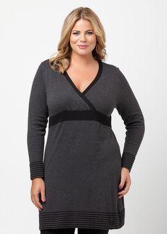 Plus Size Clothing - Top - MELLEA DRESS - Virtu