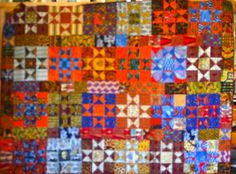 Bright, brilliant with vivid colors. A second quilt from Sue at the Magpie's Nest in WA.