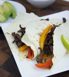 Quick Steak Fajitas - I Wash You Dry Looks yummy will try it tonight.