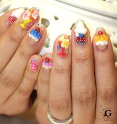 Lovely sweets nail #plusG #nail #nailart #naildesign