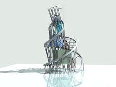 "Vladimir Tatlin ""Monument to the third International"" russian constructivism sculpture"