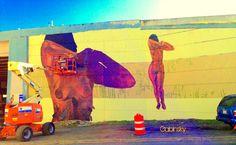 16 de enero de 2015 - Graffitti en la Ave. Manuel Fernández Juncos con el elevado de la salida al Expreso Ramón Baldorioty de Castro 23 de enero de 2015 - PAZ PARA LA MUJER Morivivi *¡Continuan como una de mis favoritas grafiteras! Ave. Manuel Fernández Juncos con Ramón Baldorioty de Castro
