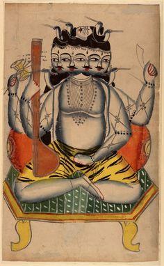 Kalighat Brahma, Calcutta, 1860.