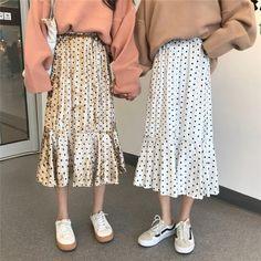 ハイウエストベロアドット柄chicカジュアルスカート Skirts, Pants, Closet, Fashion, Trouser Pants, Moda, Armoire, Fashion Styles, Skirt