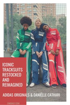 Daniëlle Cathari Deconstructs Iconic adidas Originals Tracksuits Source by fashashxx tracksuit Adidas Vintage, Lacoste Vintage, Sport Style, New Girl, Style Sportif, Mode Style, Sport Fashion, Adidas Fashion, Style Fashion