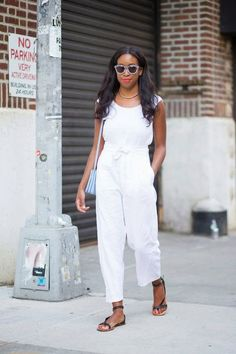 Moda de Rua: Looks total white na NY Fashion Week (Streetstyle)