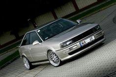 A Audi 80, Audi Cars, Audi Sport, Sweet Cars, Car Wheels, Car Car, Hot Cars, Audi Quattro, Cars And Motorcycles