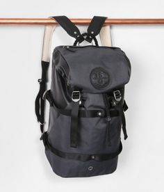 Laptop backpack inspired from Irish military